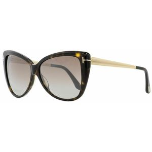 Tom Ford Butterfly Style Brown Mirrored Lens